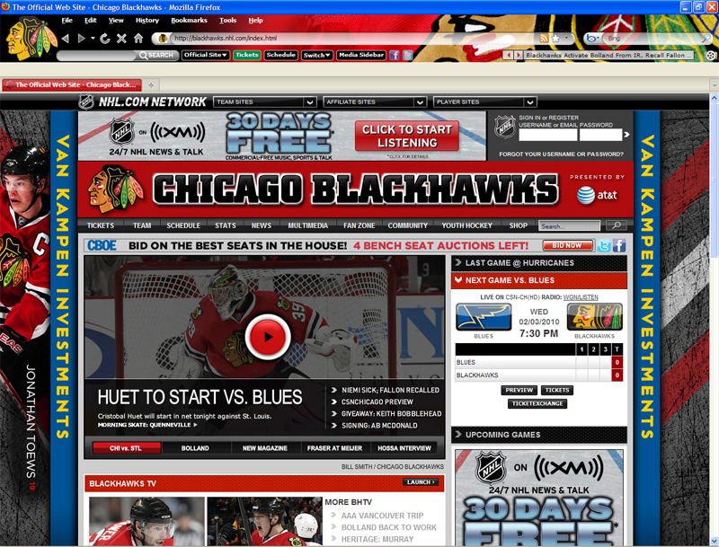NHL Chicago Blackhawks Theme