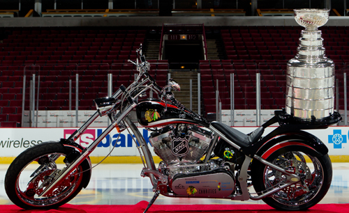 orange county choppers corvette chopper right view view related