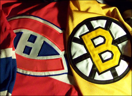 Montreal Canadiens Vs Boston Bruins Playoff 2007 2008 preview 0