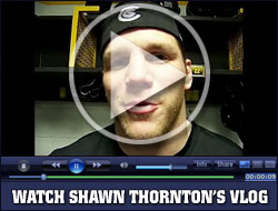 Watch Shawn Thornton's Vlog