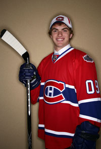 Mac Bennett - Photo Courtesy of canadiens.nhl.com