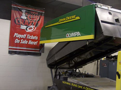John Deere ice resurfacer in Carolina