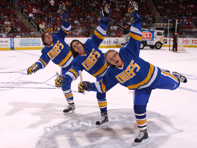 Slap Shot's Hanson Brothers