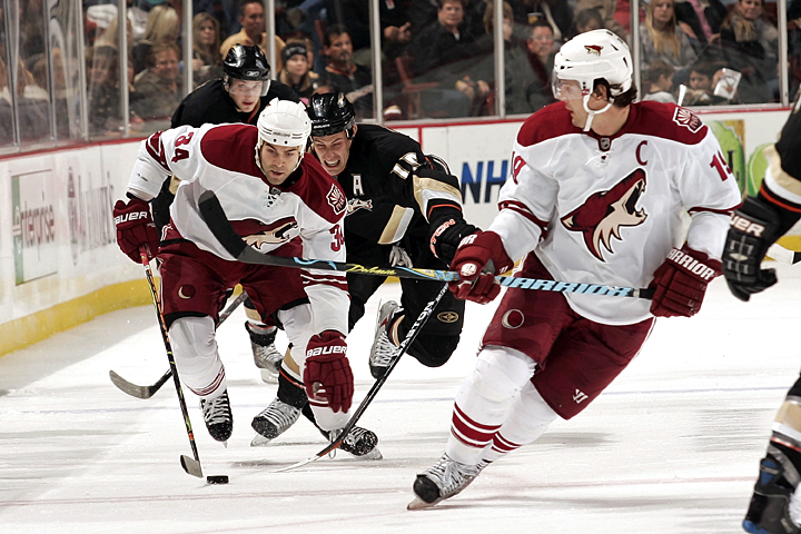 Coyotes Knock Down Ducks In OT