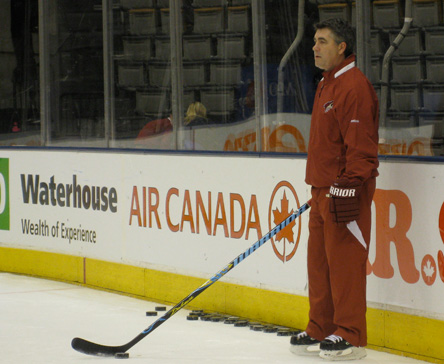 Game Day: Dave Tippett