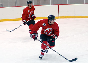 Devils open preseason at the Rock tonight thumbnail