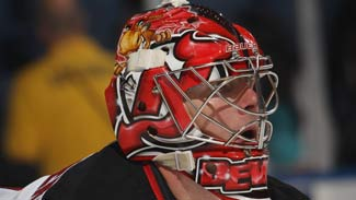 Hedberg Has Devils Thinking Playoffs