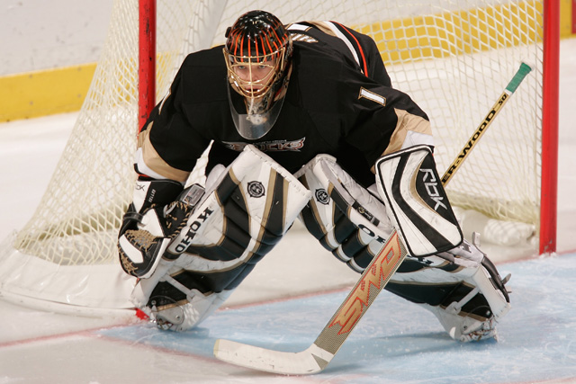 Jonas Hiller may be ready, but he wont be able to stop the Red Wings