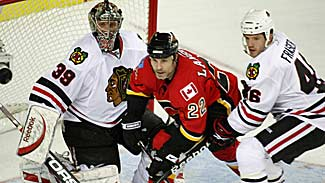 Calgary Flames vs. Chicago Blackhawks - Game 5 of the 2009 NHL Playoffs