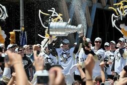 Penguins celebrate Stanley Cup