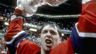 Patrick Roy with Cup