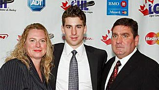 Photo of John Tavares & his  Mother  Barbara Tavares