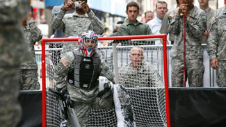 U.S. Army Gets Assist From NHL With Equipment
