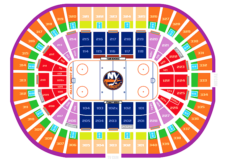 Nassau County Coliseum Seating Chart Seating Chart For Nassau