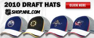 2010 NHL Draft Hats