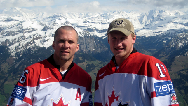 martin st louis, steven stamkos vacation