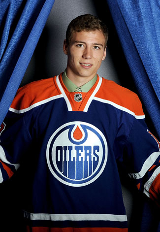 Tyler Pitlick - Photo Courtesy of oilers.nhl.com