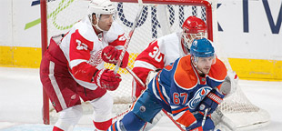 Oilers vs Red Wings