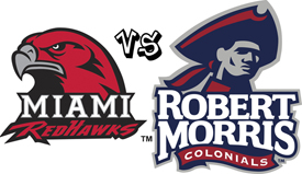 No. 1 Miami RedHawks Face Colonials This Weekend