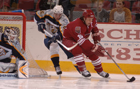 Yanic Perreault and Shane Doan