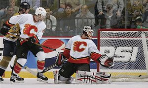 Jason Arnott and Miikka Kiprusoff