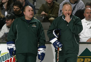 Barry Trotz and Randy Carlyle