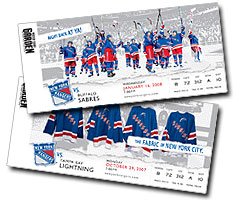 New York Rangers Season Tickets