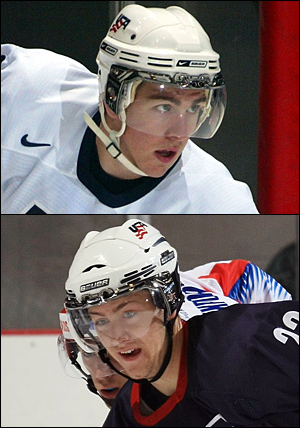 Rangers Prospects Ryan McDonagh and Derek Stepan