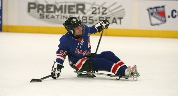 Adult Hockey Programs: Sled Hockey