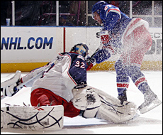 Rangers play 7-Up with Jackets thumbnail