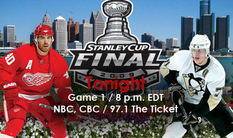 Pens and Red Wings set for tonight thumbnail