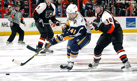 Game Of The Night:  Sabres v. Flyers