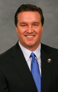 Sabres' President Ted Black