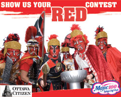 Show Us Your Red Contest