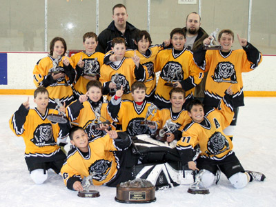 Oakland Bears Squirt A Team