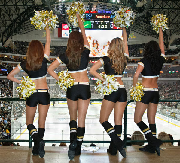 of time commitment is required when you are a Dallas Stars Ice Girl?